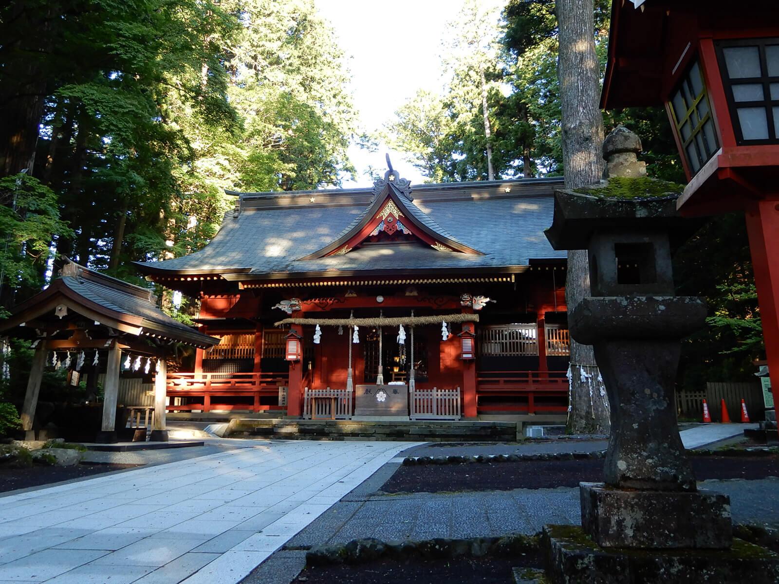 冨士浅間神社の社殿